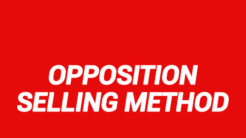 Opposition Selling